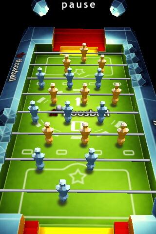 Screenshot iFoosball